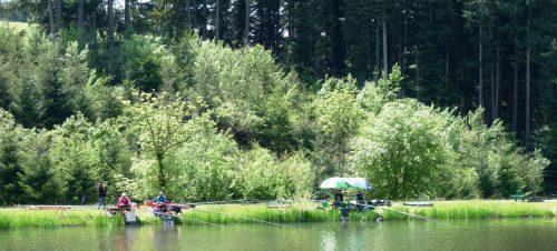 pêche au camping la chanterelle champagnac le vieux