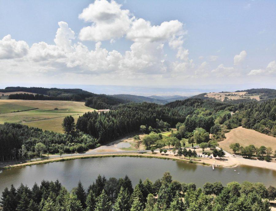 lac champagnac jour aerien